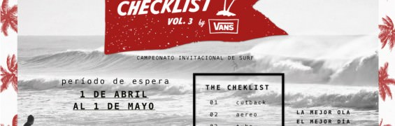 Surf the checklist
