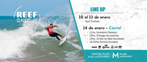 LINE UP REEF CLASSIC