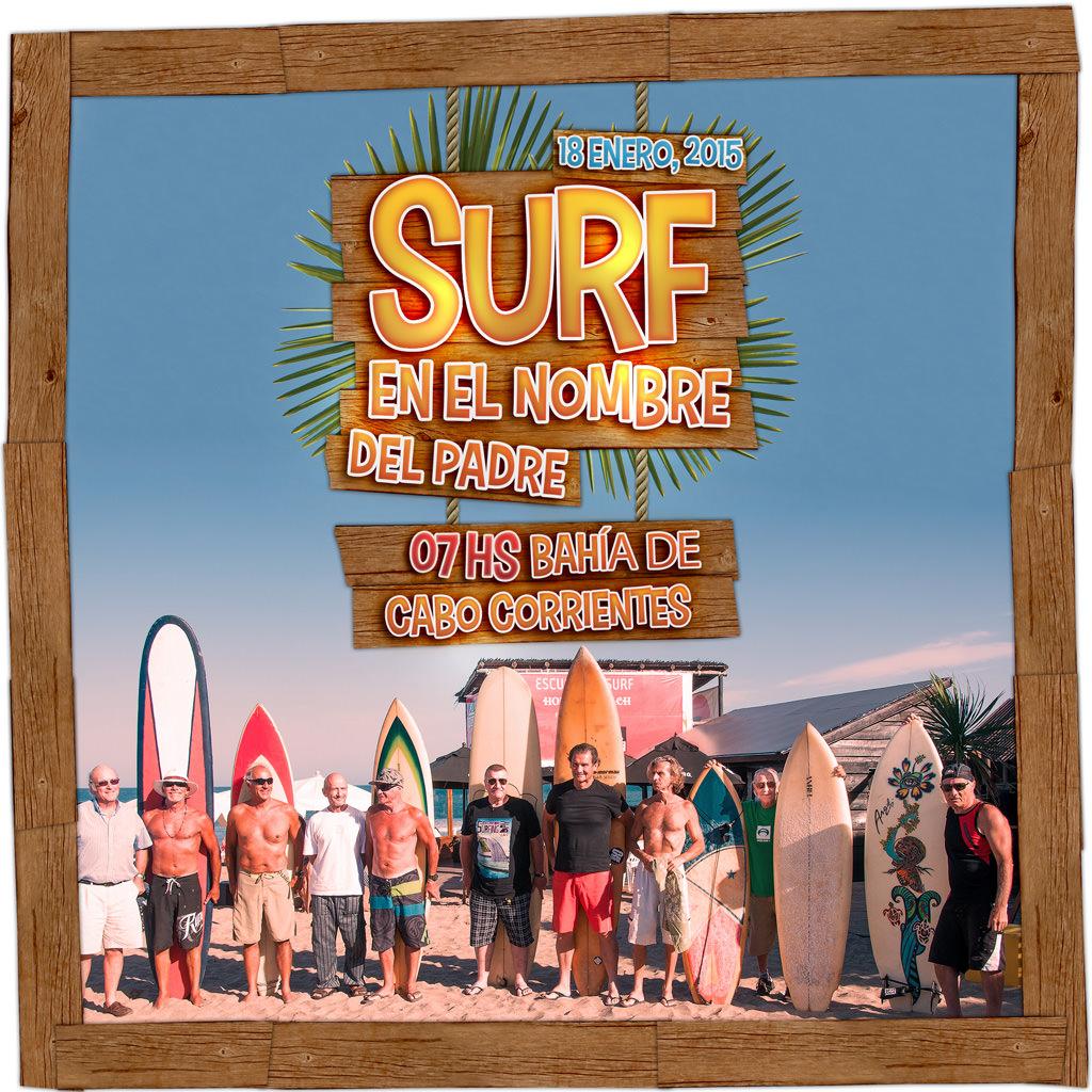 Surf en el nombre del padre